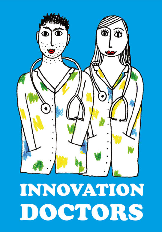 Redlobster illustratie kaart innovation doctors