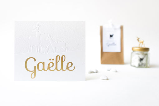 Birth announcementGaëlle
